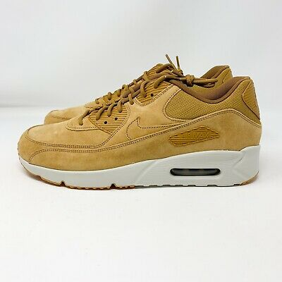 NIKE AIR MAX 90 Ultra 2.0 Leather Men's New Olive Canvas