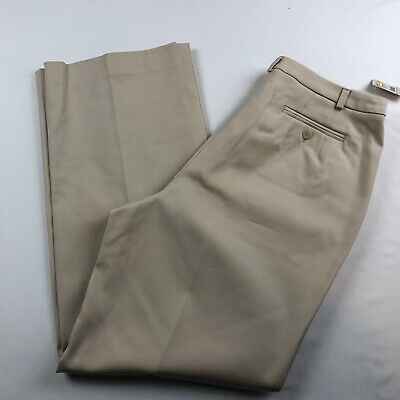 Talbots Petites Womens Stretch Beige Pants Size 10