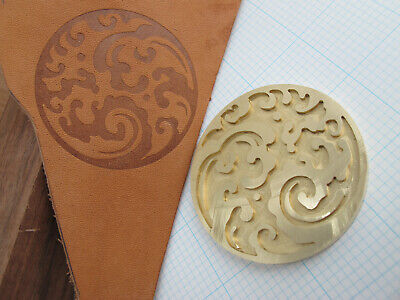 Japanese Ocean Waves bookbinding Leather finishing stamp Embossing biscuit die