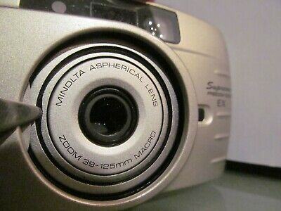 MINOLTA 125 EX Supreme Riva Freedom Zoom 35mm Point And Shoot