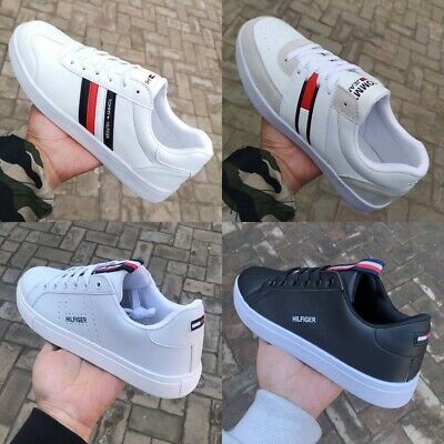 2019 HOT Tommy Jeans Icon Sneaker Casual Trainers Shoes Womens Mens UK Size 4-9