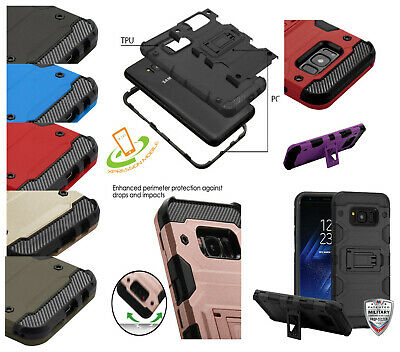 For Samsung Galaxy Note 10 /Plus HYBRID Shockproof Armor Rugged Case Phone Cover