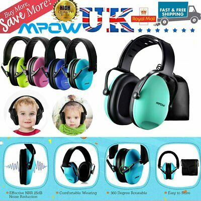 MPOW Noise Reduction Kids Ear Muffs Defenders Festival Protection for Boys Girls