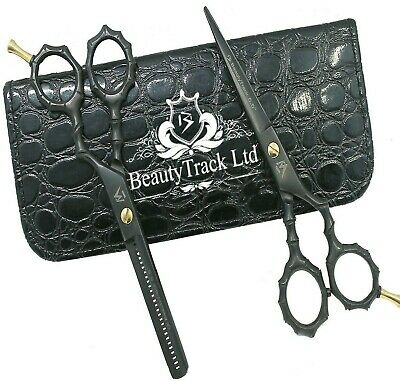 Salon Professional Haircutting Shears Scissors Set Hairdressing Thinning Barbers
