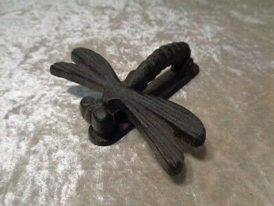 Iron/Cast Iron Door Knocker - Dragonfly - Vintage Design/Antique-Style