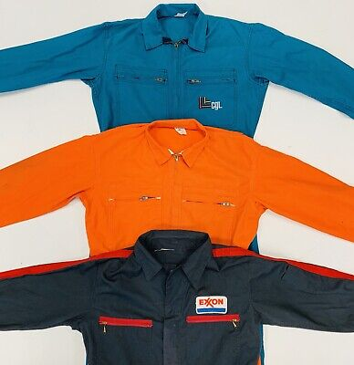30 x BOILER SUITS / JUMPSUITS / WORKWEAR - GRADE A & B - BULK VINTAGE WHOLESALE