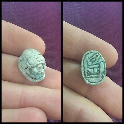 Rare ancient Egyptian scarab beetle 300 bc