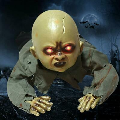 Halloween Crawling Ghost Zombie Baby Prop Horror House Haunted Party  HOT ZY