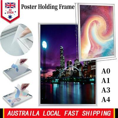 Wall Poster Frame Snap Clip A0 A1 A3 A4 Sign Holder Elevator Billboard Photo