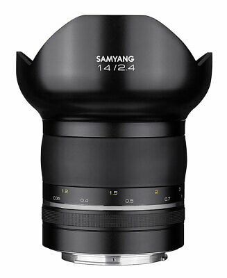 Samyang XP 14mm F2.4 Lens for Canon EF Ship from EU Nuevo