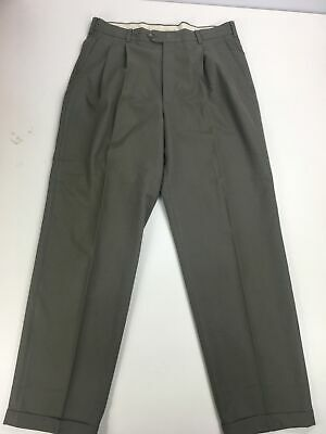 Mens River Island Light Khaki Brown Tailored Smart Classic Chino Trousers W36