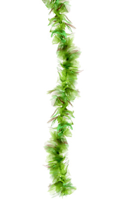 Green Faux Feather Boa 72 Inch Mermaid Seaweed Fancy Dress Costume Accessory