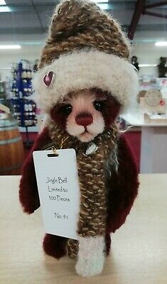 SPECIAL OFFER! 2018 Charlie Bears Isabelle Mohair JINGLE BELL (91/300) RRP £125
