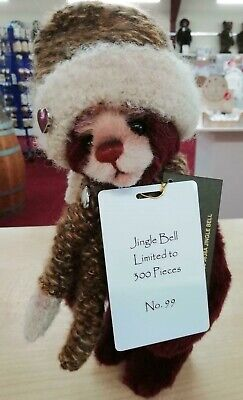 SPECIAL OFFER! 2018 Charlie Bears Isabelle Mohair JINGLE BELL (99/300) RRP £125
