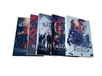 Agents of SHIELD S.H.I.E.L.D: Complete Seasons 1-5 (DVD, 25-Disc Set) 1 2 3 4 5