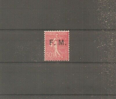 Timbre France Franchise Militaire Fm 1929 N°6 Neuf** Mnh