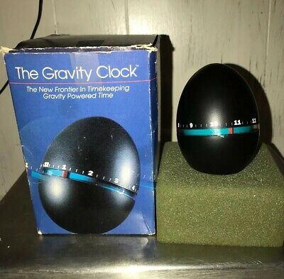 The Gravity Clock The New Frontier In Timekeeping Gravity Powered Time W Box
