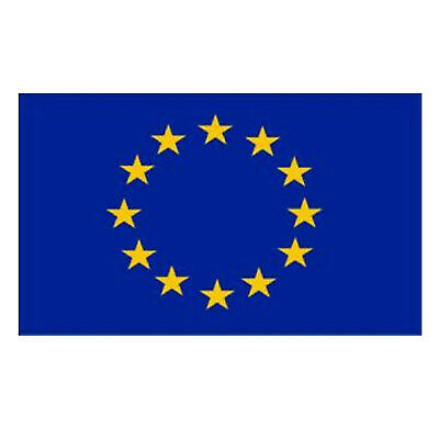 Europe Flag European Union Size 5 X 3 ft  High Quality Fabric With Brass Eyelets