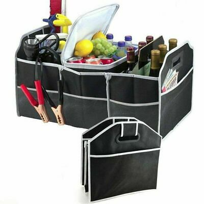 New Heavy Duty Collapsible Folding Car Boot Organizer With Pockets And Handle