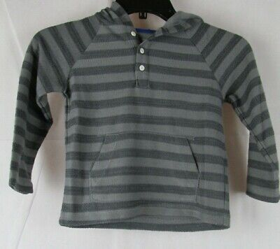 Gymboree Boys Gray Long Sleeve Hood Shirt Size 18-24 months