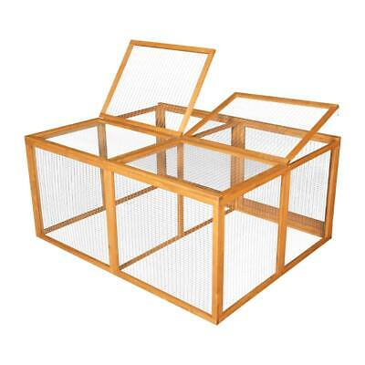 5ft Rabbit Guinea Pig Run Cage Deluxe Outdoor Pet Fence Playpen