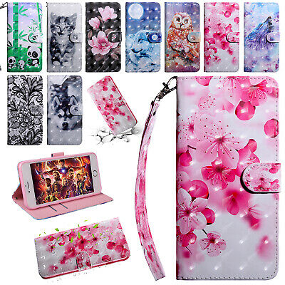 For Samsung Galaxy A10 A70 A50 A20 A40 Case Magnetic Leather Wallet Stand Cover