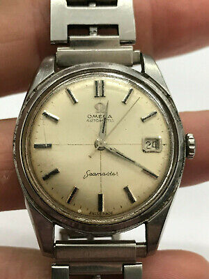 Vintage Stainless Steel Omega SeaMaster Automatic 1960's? Running