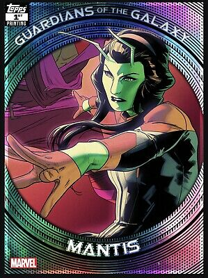 Topps Marvel Collect GUARDIANS of the GALAXY FIRST 1st Printing Mantis Card