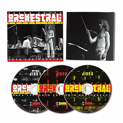 FRANK ZAPPA 'ORCHESTRAL FAVORITES' (40th Anniversary) 3 CD - Released 30/08/2019