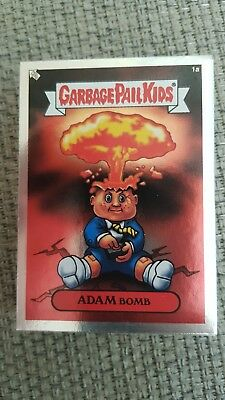Garbage Pail Kids US Ans 1 Silver Complete 50 Cards VGC 2003 Set Matte Back Rare