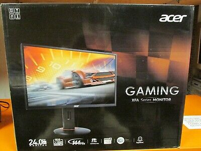 "Acer 24"" 144Hz 1ms AMD Freesync Widescreen HDMI FHD Pivot Gaming Monitor, XFA240"