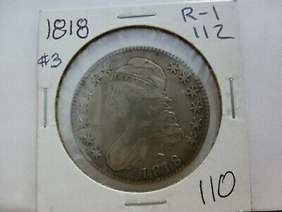 1818 Capped Bust Silver Half Dollar #3