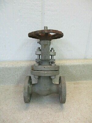 Aloyco 1/2'' S/S 300Psi Flanged Gate Valve #814937G Used