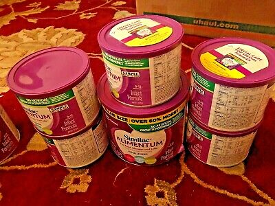 Lot of  Cans Similac Alimentum Hypoallergenic Infant Formula w/Iron 12.1oz.