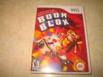 Boom Blox (Nintendo Wii, 2008) - Brand New Sealed