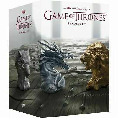 Game of Thrones ALL Seasons 1 2 3 4 5 6 7 Complete DVD Set Series on 34 DVDs