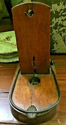 Late 19Th-Early 20Th C Antique Mouse/rat Trap, W/heavy Gauge Wire, Hardwood