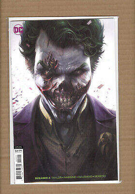 DCEASED #4 Joker Mattina Variant DC COMICS 2019 NM