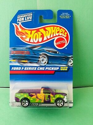 1999 Hot Wheels Ford F-Series CNG Pickup Collector #908