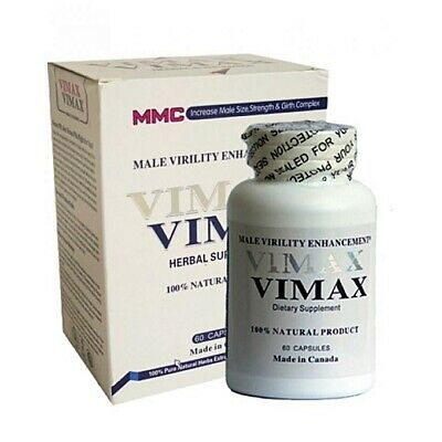 VIMAX Sexual Supplement 60 capsules Made in Canada