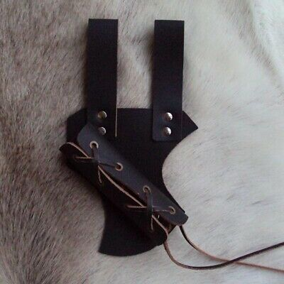 Styled Leather Adjustable Sword Frog, Ideal For Costume, Re-enactment And LARP #