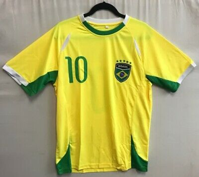 BRAZIL 2014 FIFA WORLD CUP 4TH PLACE HOME JERSEY NIKE SHIRT CAMISA SMALL KIDS WOMEN MODEL 575280 703