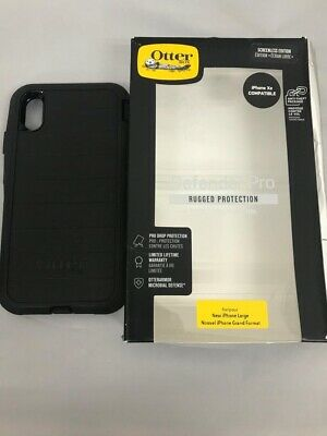 OtterBox - Defender Series Pro Case for Apple iPhone Xs MAX ONLY BLACK NO CLIP