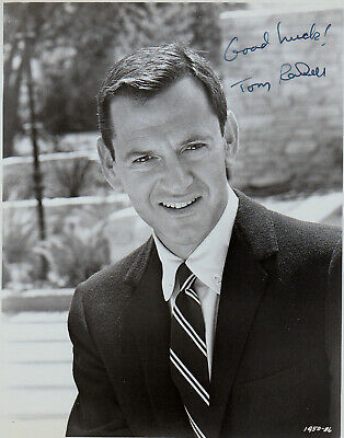 Tony Randall  Certified Signed autographed vintage  8 X10  photo + COA