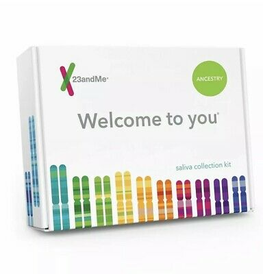 New 23andMe DNA Test Ancestry Personal Genetic Service PrePaid Geographic 2020+