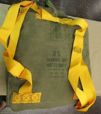 Nice United States MILITARY HOT CLIMATE SURVIVAL KIT US ARMY 7/87