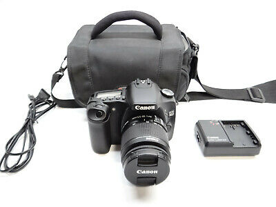 Canon EOS 30D 8.2MP Digital SLR Camera & EF-S 18-55mm Lens 1:3.5-5.6 IS II