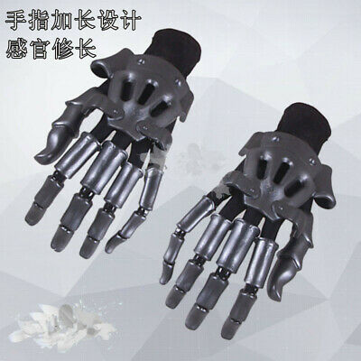 Violet Evergarden Cosplay Prop Accessory Gloves Hand Gauntlet Knuckles A Pair