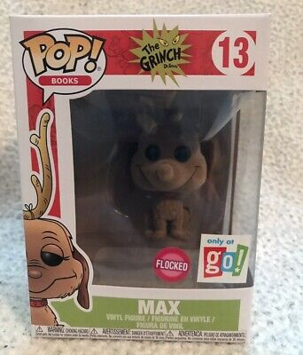 Funko The Grinch Max Flocked Go! Calendars Exclusive Pop Vinyl