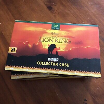 1 X Ooshies The Lion King Ooshie  * Case Only * Woolworths Woolies Disney Album